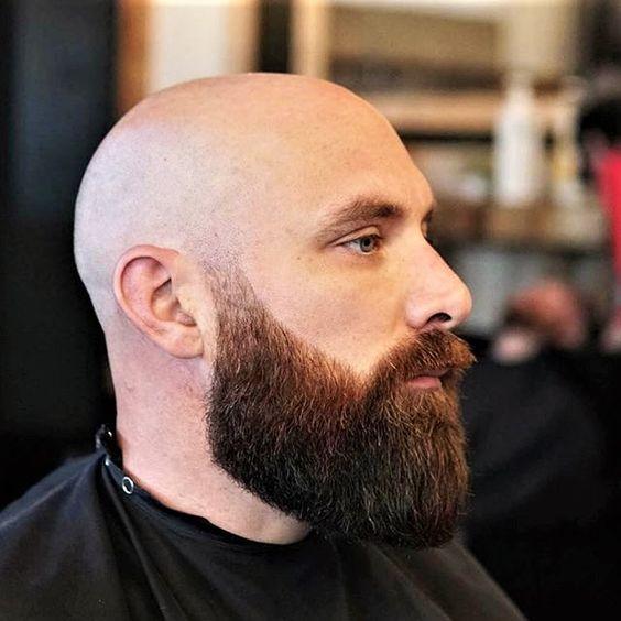 Those Men Takiva Mzhe Bald Beard Series Bald With Beard Bald Head With Beard Bald Men With Beards