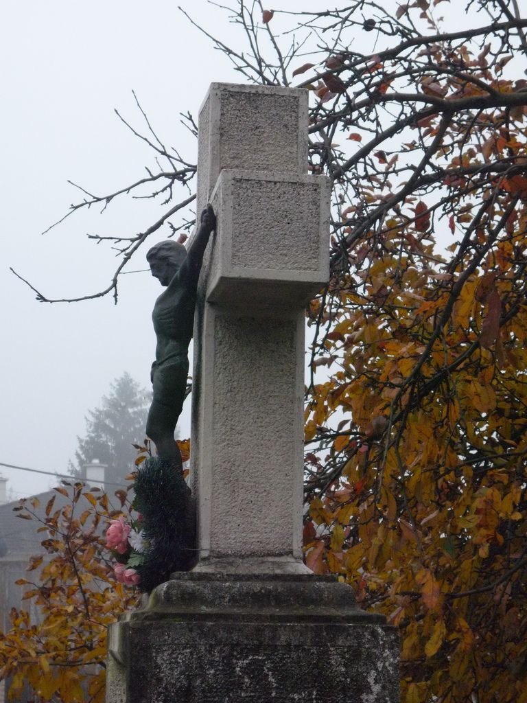 Wayside Cross | Hungary, Budapest, Máriaremete Church Park - November