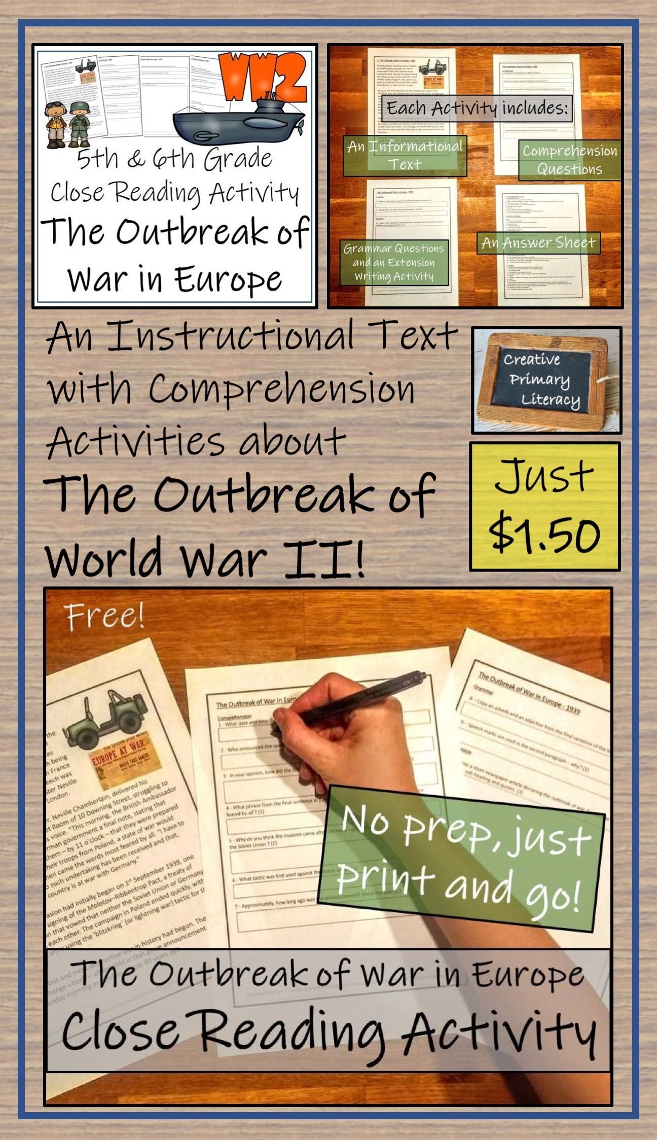Wwii The Outbreak Of War In Europe