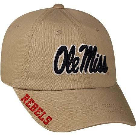 Ole Miss Rebels Adjustable Cap Hat - Choose Color