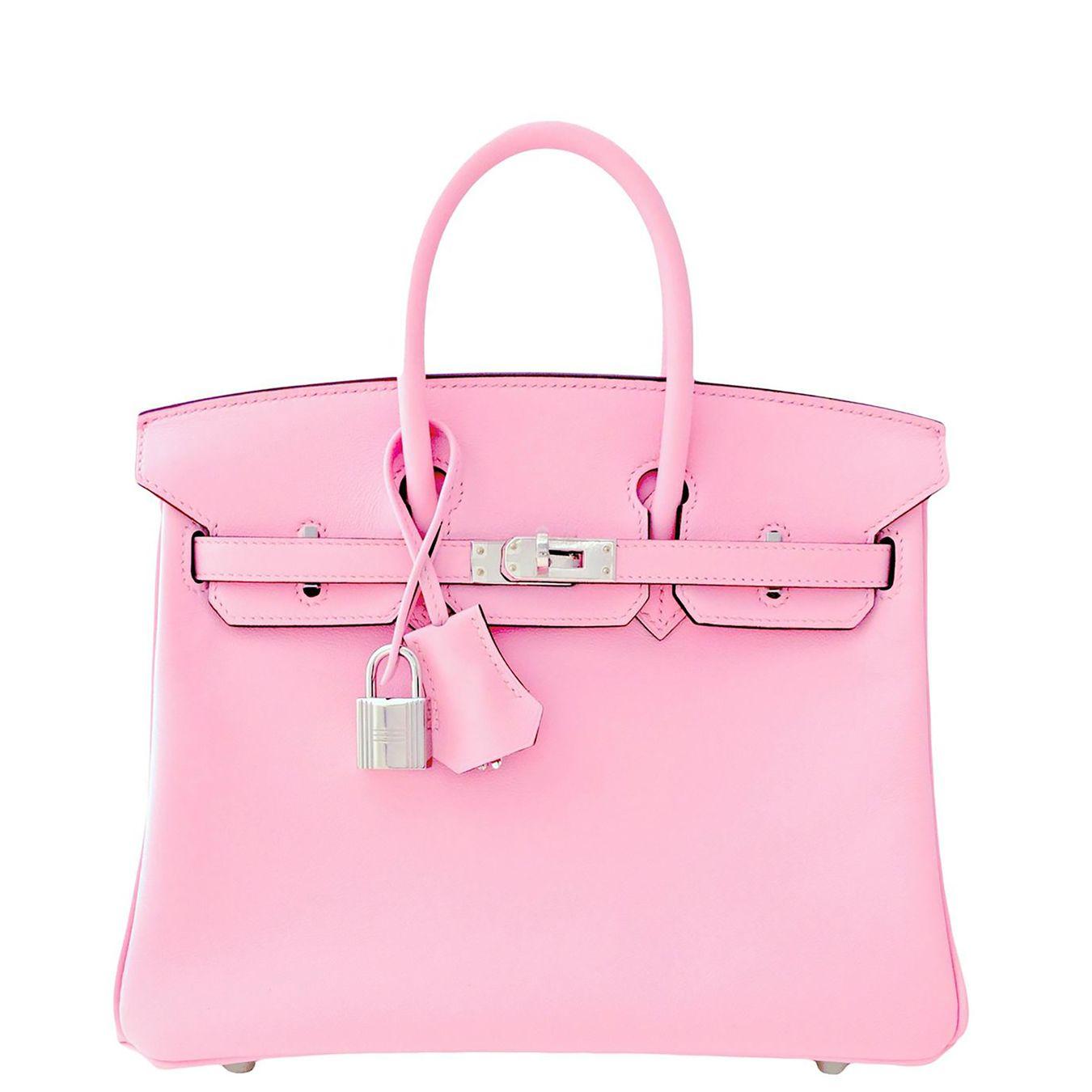 de001385a6 Hermes Birkin Bag 25cm Rose Sakura Pink Swift Palladium Hardware Image 1