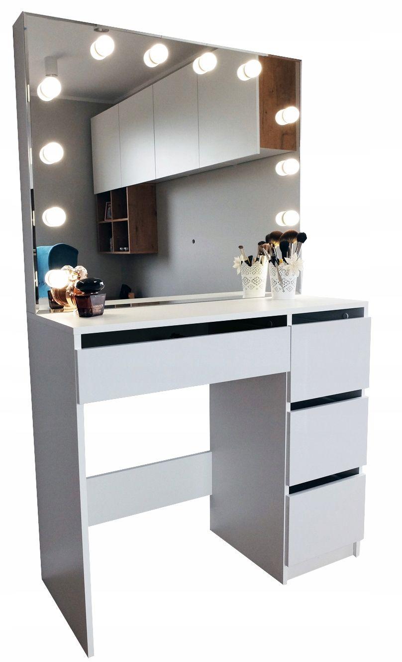 Toaletka Do Makijazu Wizazu Z Oswietleniem Lustro Bedroom Design Furniture Decor