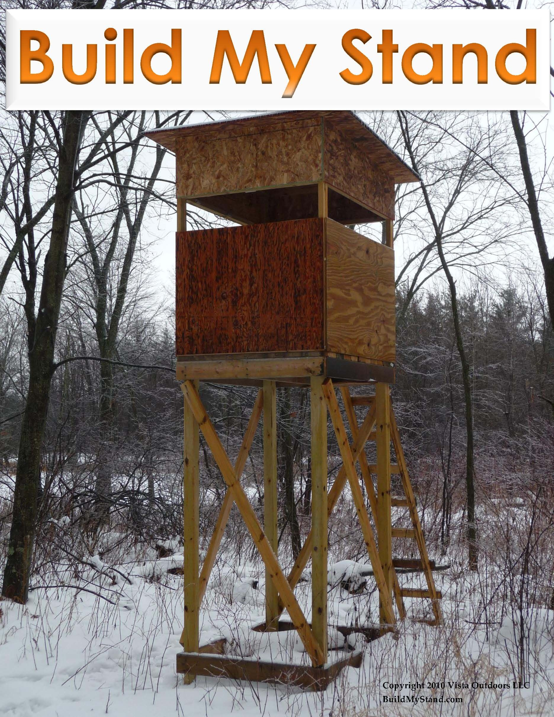 Diy tree stand plans - Diy Build A Stand