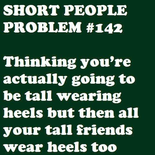 Heck, My Feet Are So Small I Can't Even Find Heels That