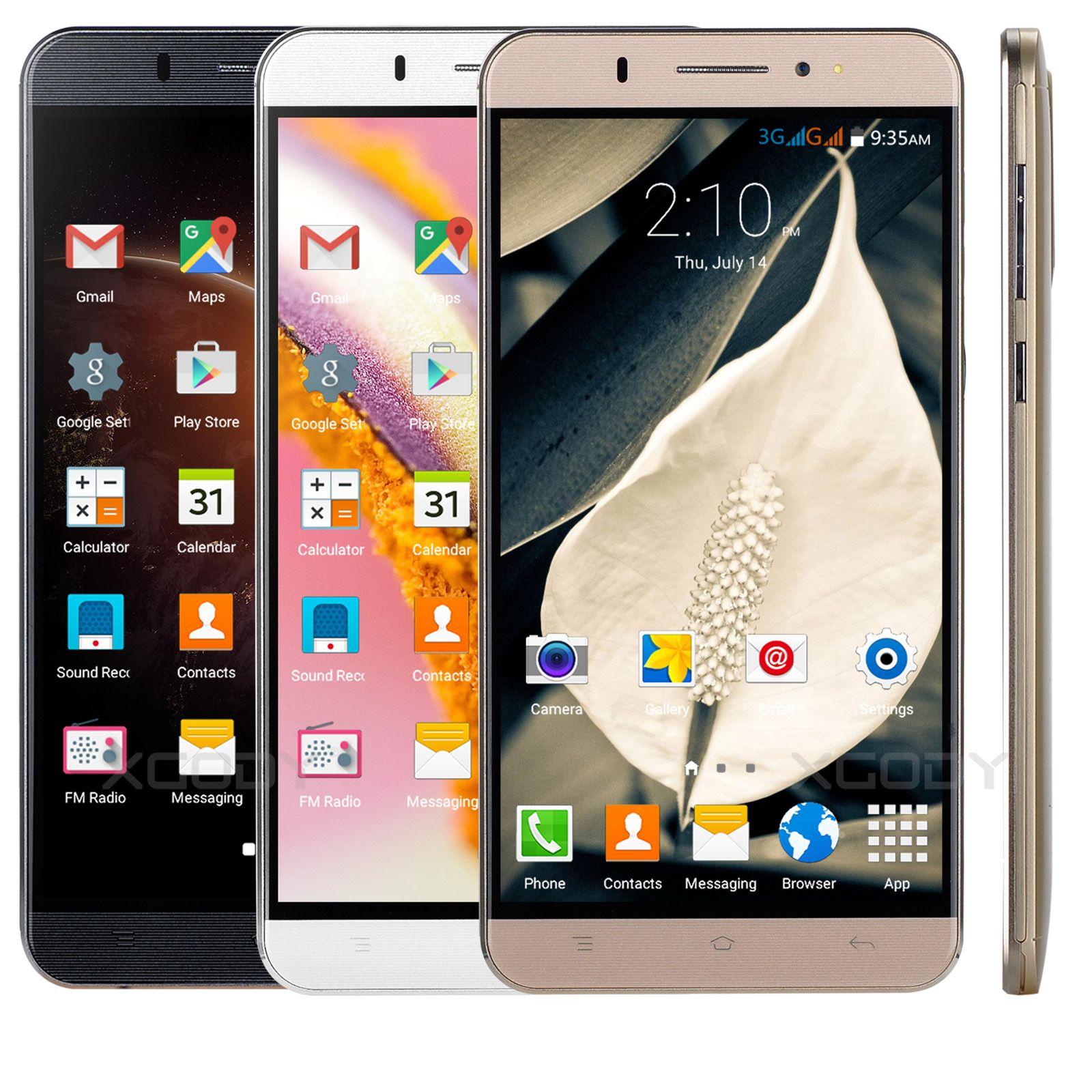 Xgody Y20 6 Inch Android 5.1 Unlocked Smartphones Quad