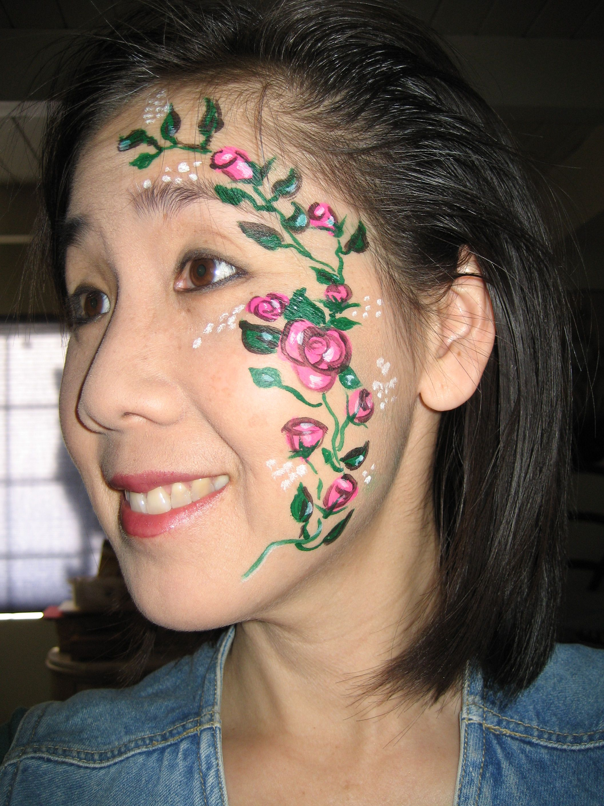 Airbrush tattoos face painting t shirts etc the for Airbrush tattoo paint