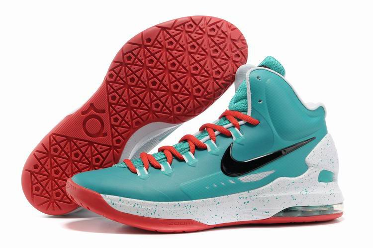 low priced f2362 77ca6 Nike Zoom KD V 5 ID Mint Green Red White 554988 361 Kevin Durant Shoes 2012