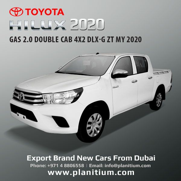 2020 Toyota Hilux Gas Double Cab 4x2 Dlx G Pickups Dubai Toyota Hilux Toyota Lifted Ford Trucks