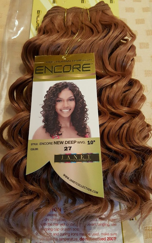 Hair Weave Extensions Golden Blonde Human Encore 10 Inch Full Head
