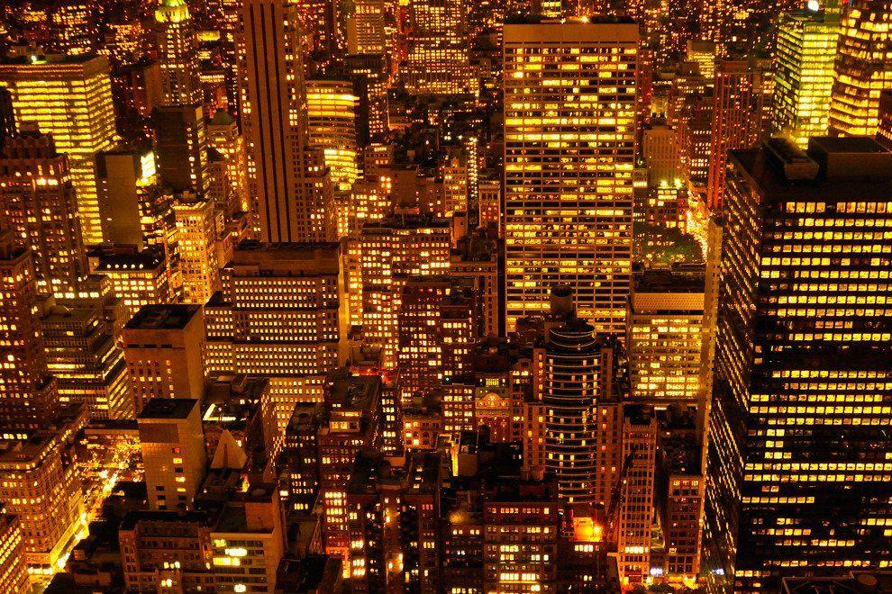 Alejandro cerutti new york at night large new york