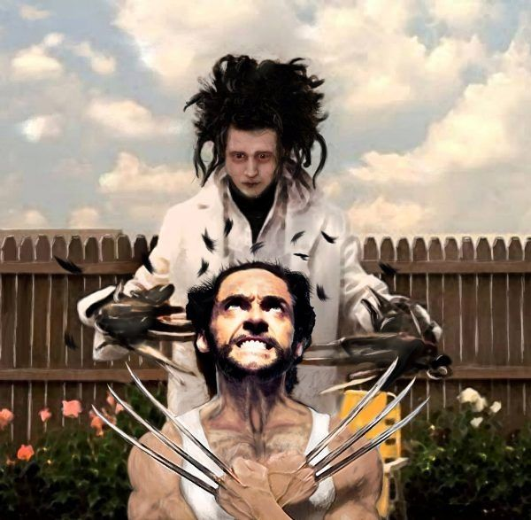 When Wolverine Goes To The Hairdressers…