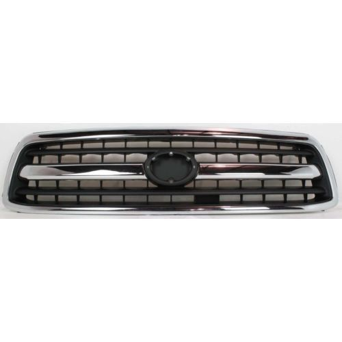 2000-2002 Toyota Tundra Grille, Chrome Shell/Black