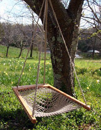 Twin Oaks Hanging Hammock Chair