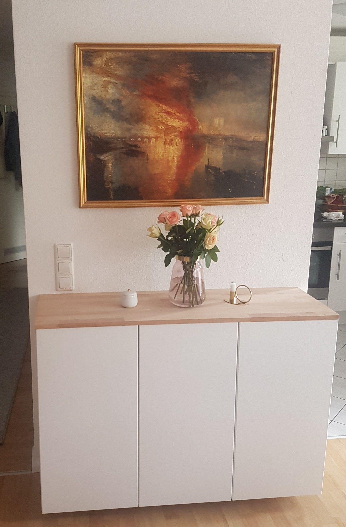 Ikea Hack- METOD Küchenschrank wird zum Sidebord   Wohnung ...
