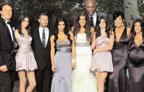 Khloe and lamar wedding