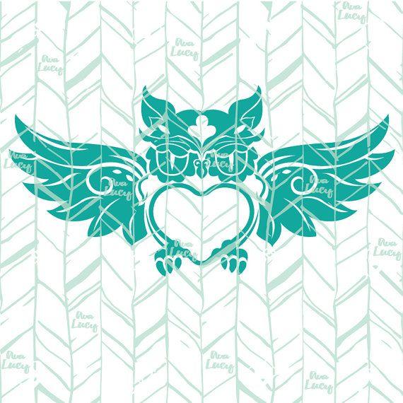 Download Image result for free svg files for cricut Monogram Owl ...