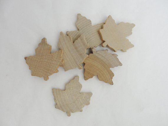 Large Wooden Maple Leaf Wooden Leaf Leaf Cutout Wood Leaf Cutout
