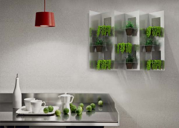 How to Make a Vertical Garden From Disposable Cups