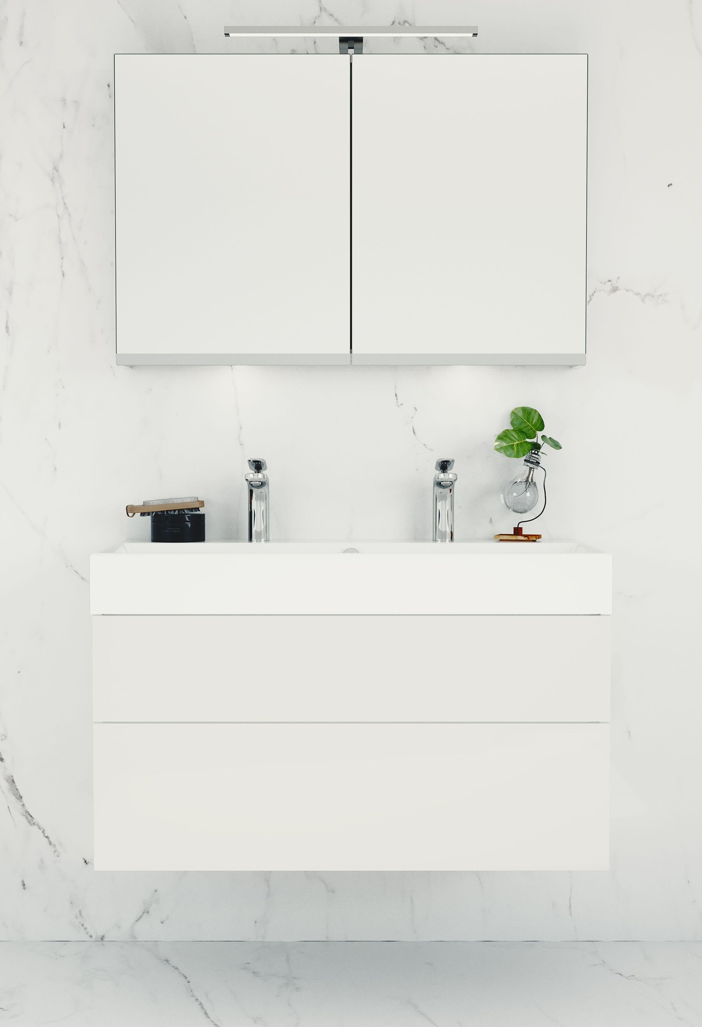 Model: Coast Width: 100 cm Color: A81 Acryllic White gloss Type: F ...