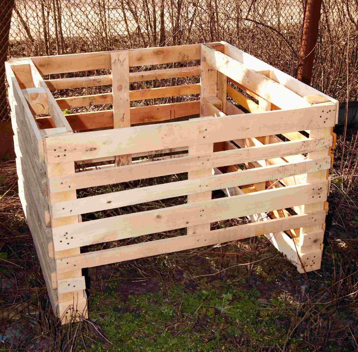 Ящик для компоста из поддонов своими руками фото 57