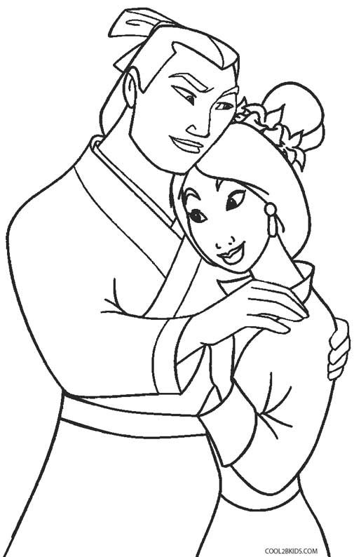 Printable Mulan Coloring Pages For Kids | Cool2bKids | Coloring ...