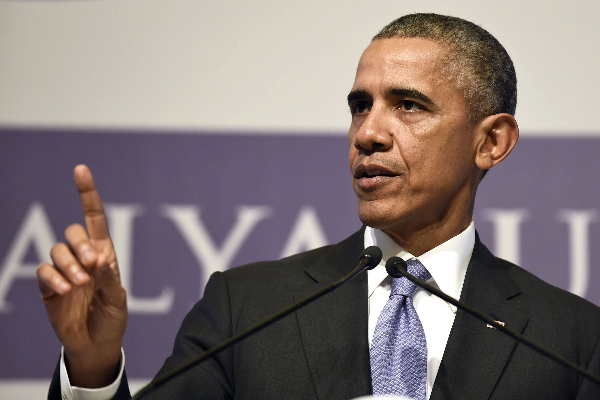Some U.S. leaders may have found it easy to announce this morning that we're simply too afraid to welcome any of ISIS's victims as refugees. Obama aimed higher.