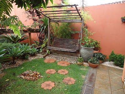 jardines rusticos baratos terrazas y balcones Pinterest Backyard