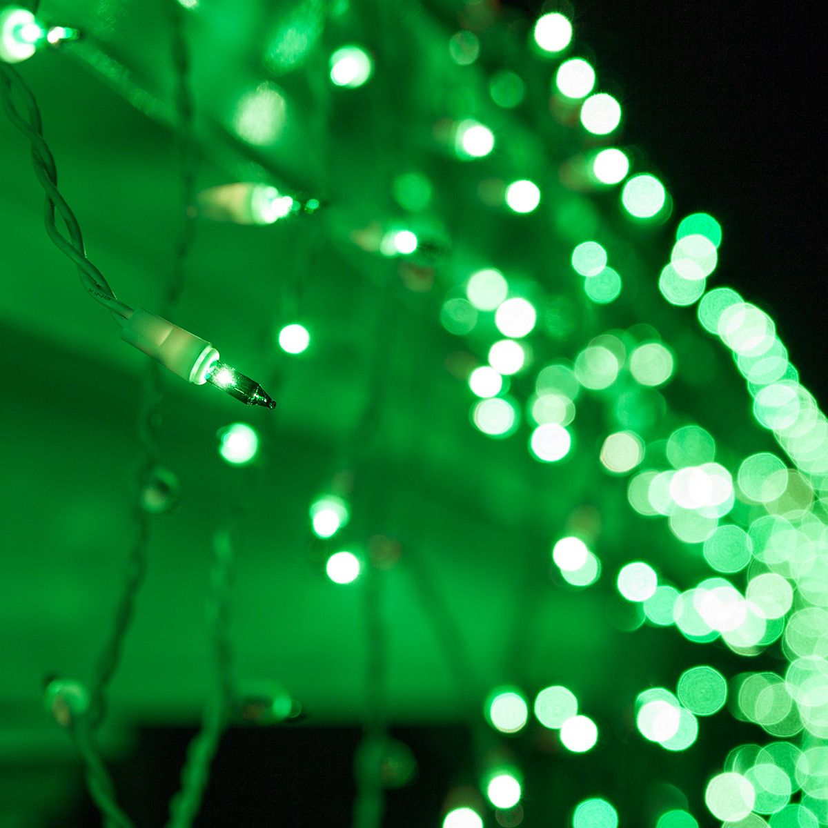 st patricks day green icicle lights fresh hue for spring events easter st pattys and christmas too