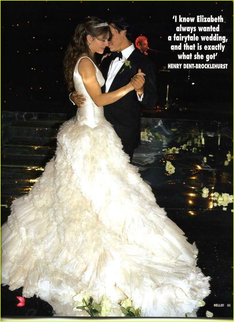 ga online de goedkoopste om te kopen Liz Hurley and Arun Nayar 2007 1 Extravagant Weddings for ...
