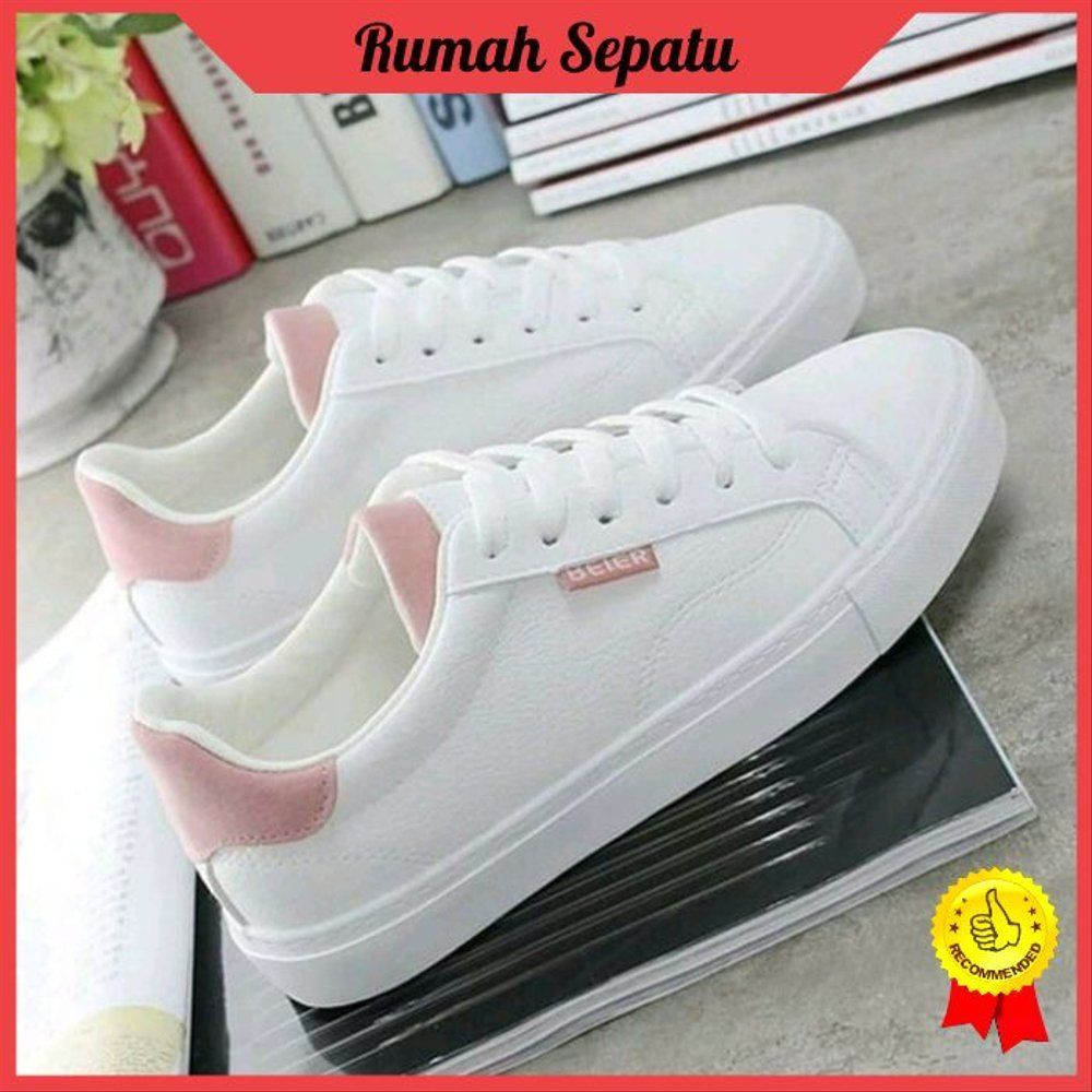 Sneakers Kuliah Kampus Santai Casual Gaul Hangout Senam Jogging