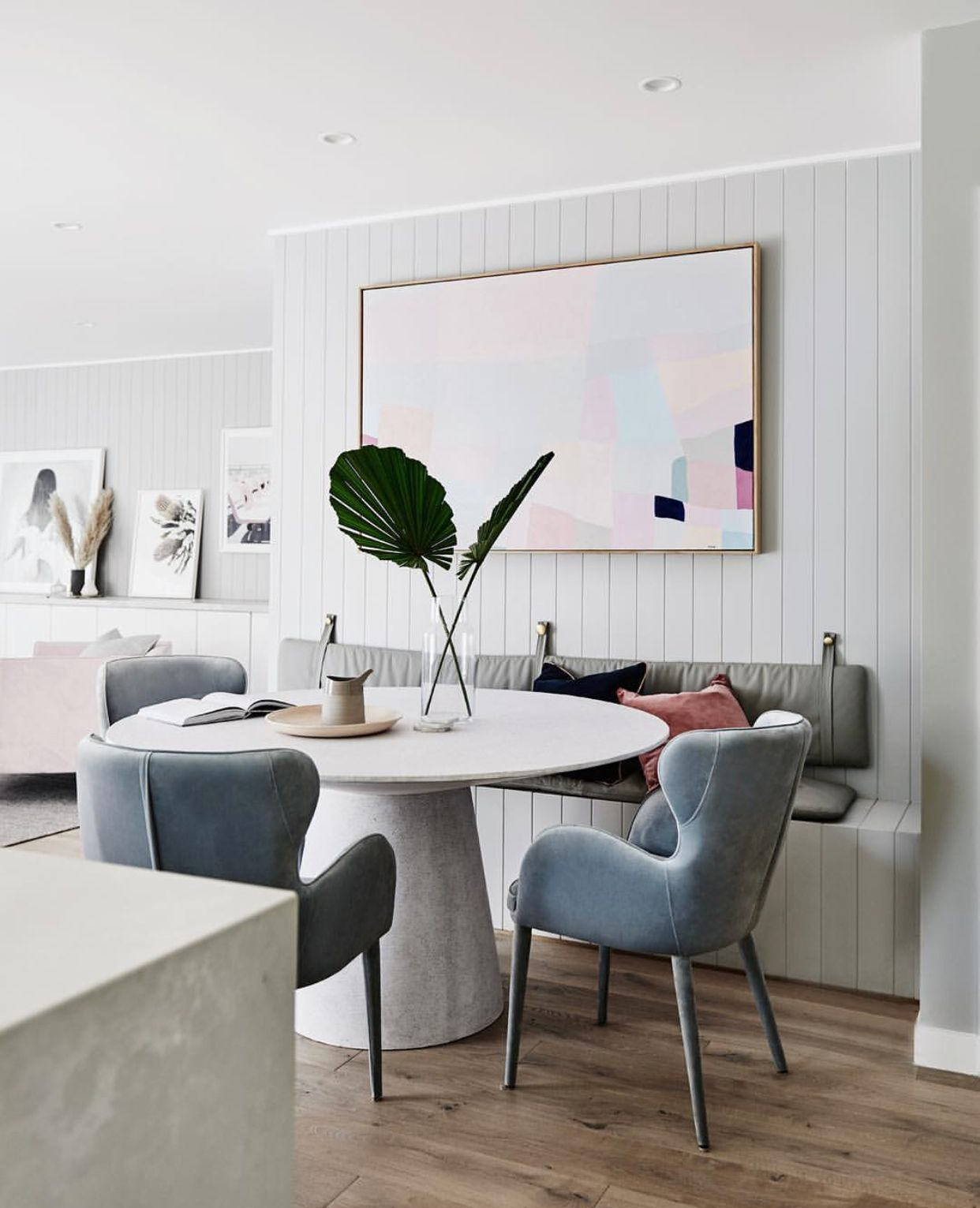 Pin By Eniko Veres On K I T C H E N D I N I N G Scandinavian Dining Room Dining Table With Bench Dining Room Design