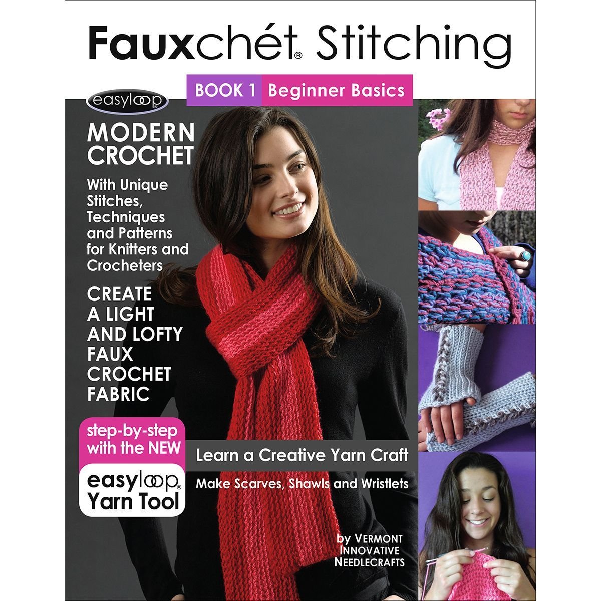 Fauxchet Stitching Book 1Beginner Basics