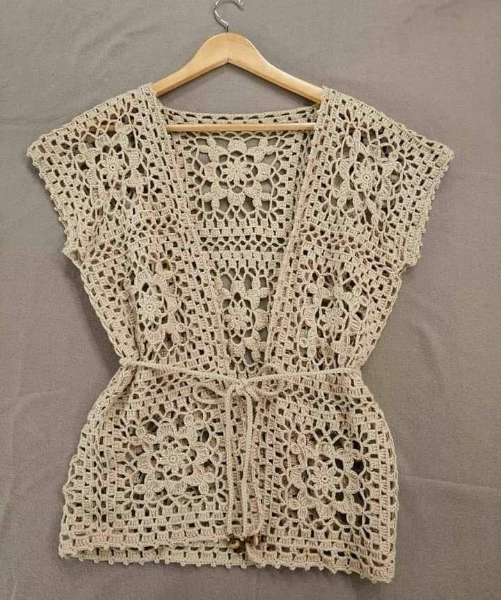 Photo of – minhas roupas em crochê – #Bolero #Stricken #BoleroStricken
