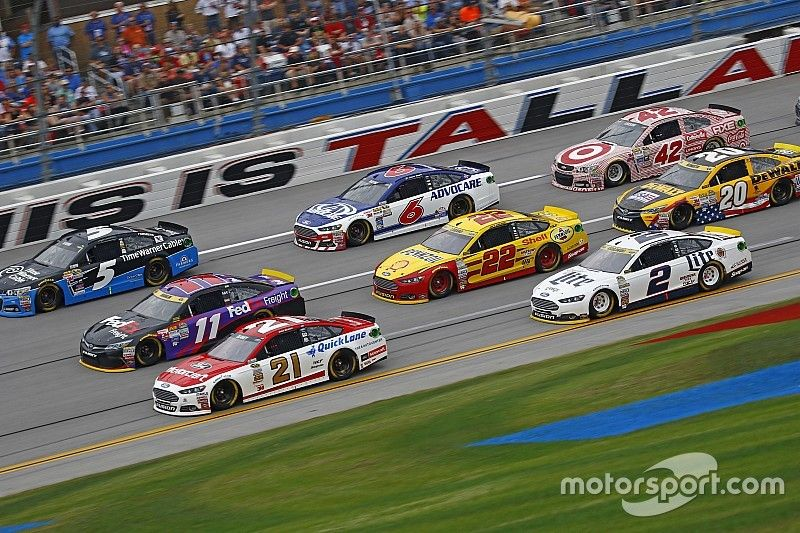 Talladega strategy A game of survival and finding the