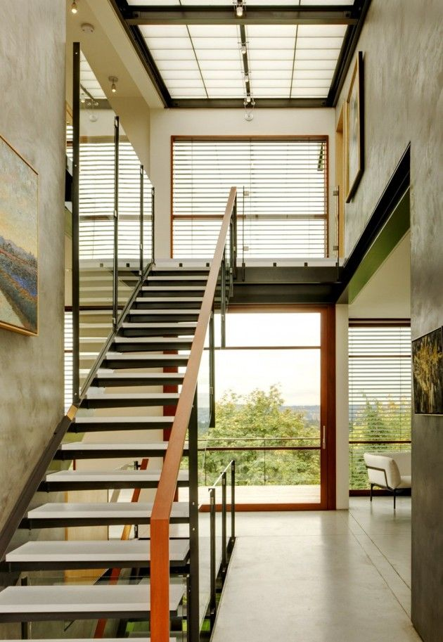 The Capitol Hill Residence by Balance Associates Architects