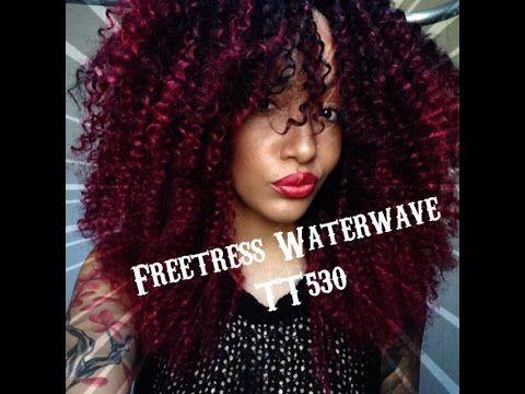 Admirable Crochet Braids Freetress Water Wave Youtube Crochet Braids Hairstyle Inspiration Daily Dogsangcom
