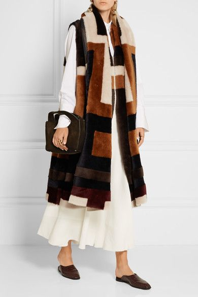 Multicolored shearling Slips on 100% shearling (Lamb) Dry clean ...