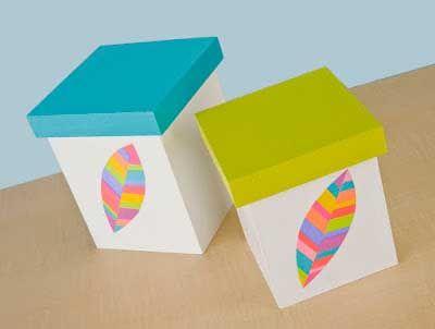 cajas para decorar