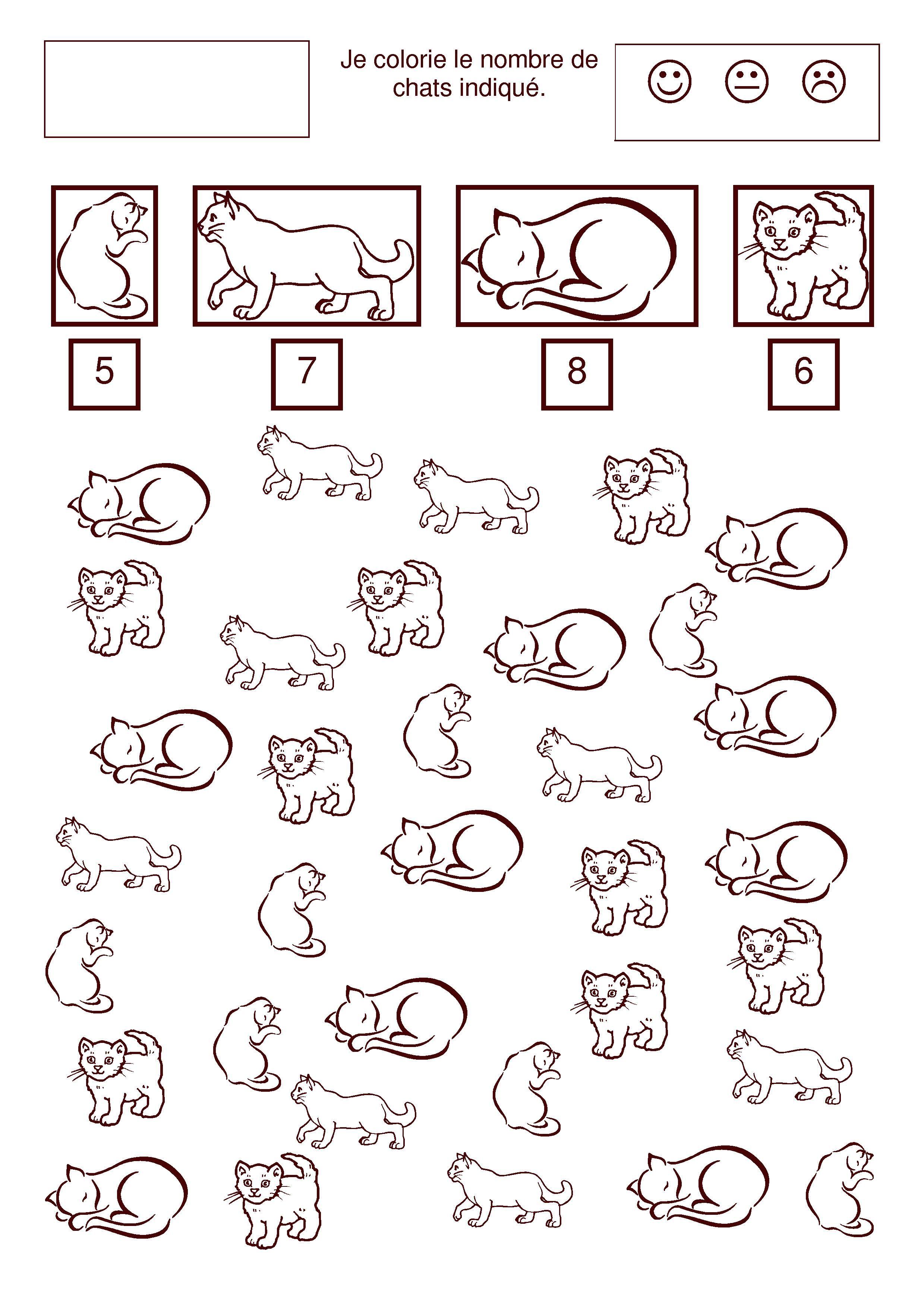 Beau dessin colorier mimi la souris - Chat a colorier maternelle ...