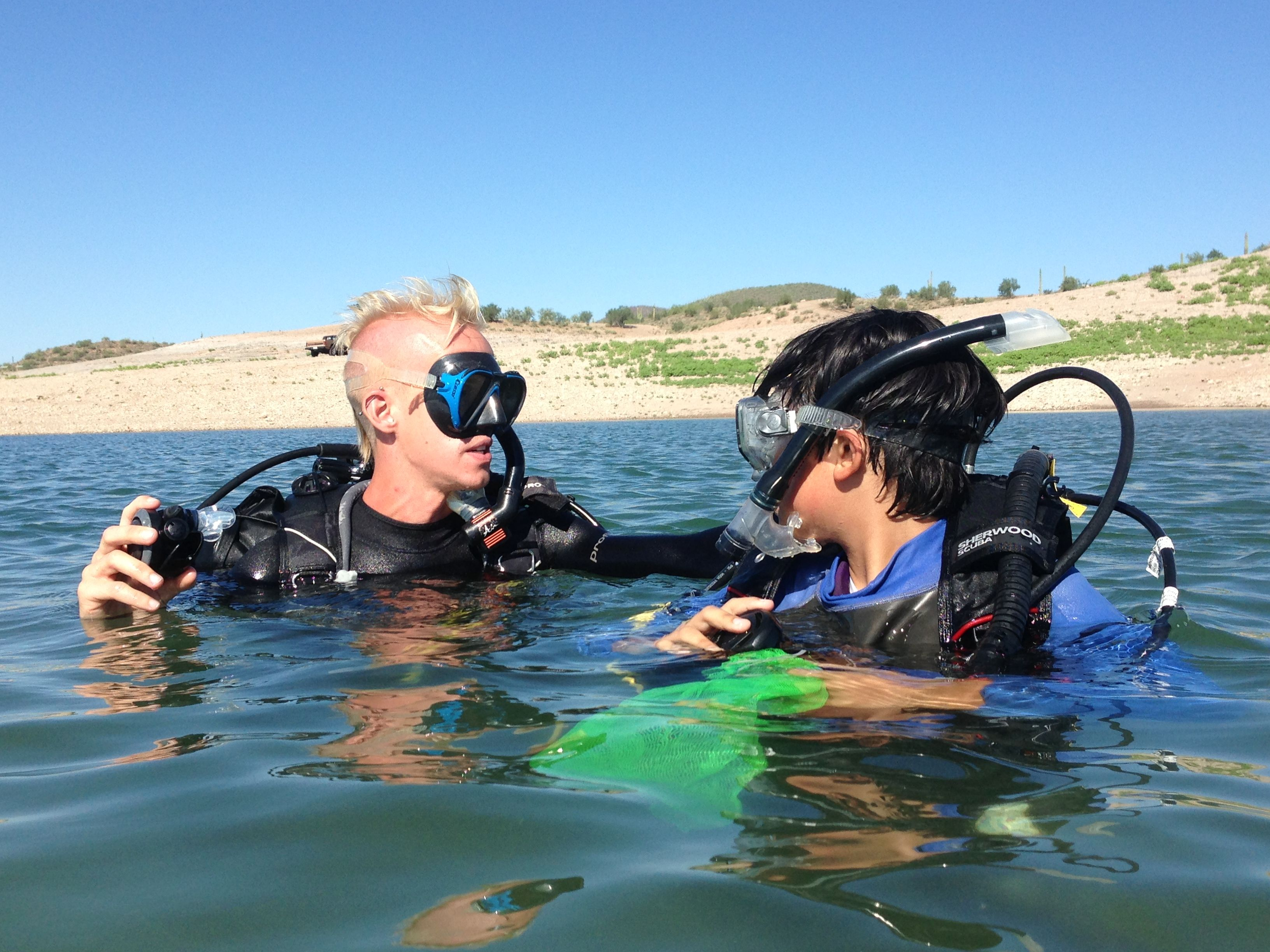 Lake Pleasant Scuba Diving Scuba Professionals Of Arizona Www