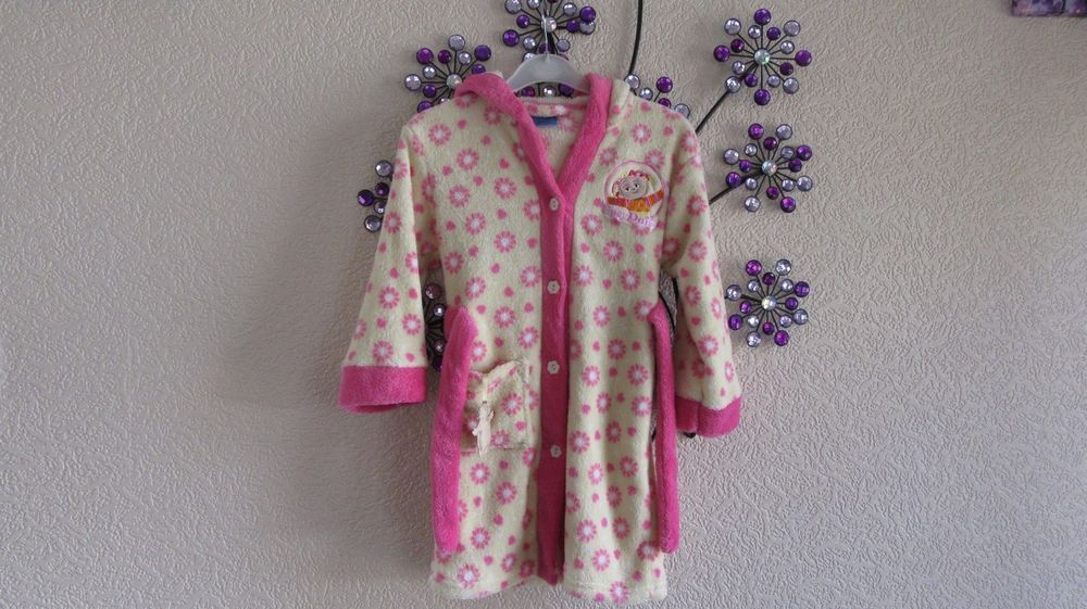 BHS Girls Upsy Daisy Dressing Gown Age 3 years 98cm #BHS #Robe ...
