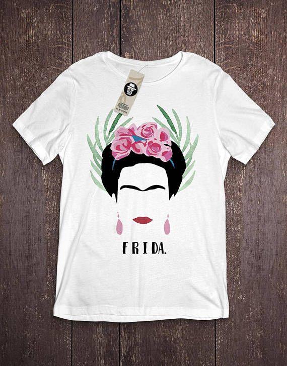 Girl power Shirt Frida Kahlo tshirt Frida Kahlo Paint Shirt Frida Kahlo T-shirt Gift for her Art Shirt Feminist Shirt