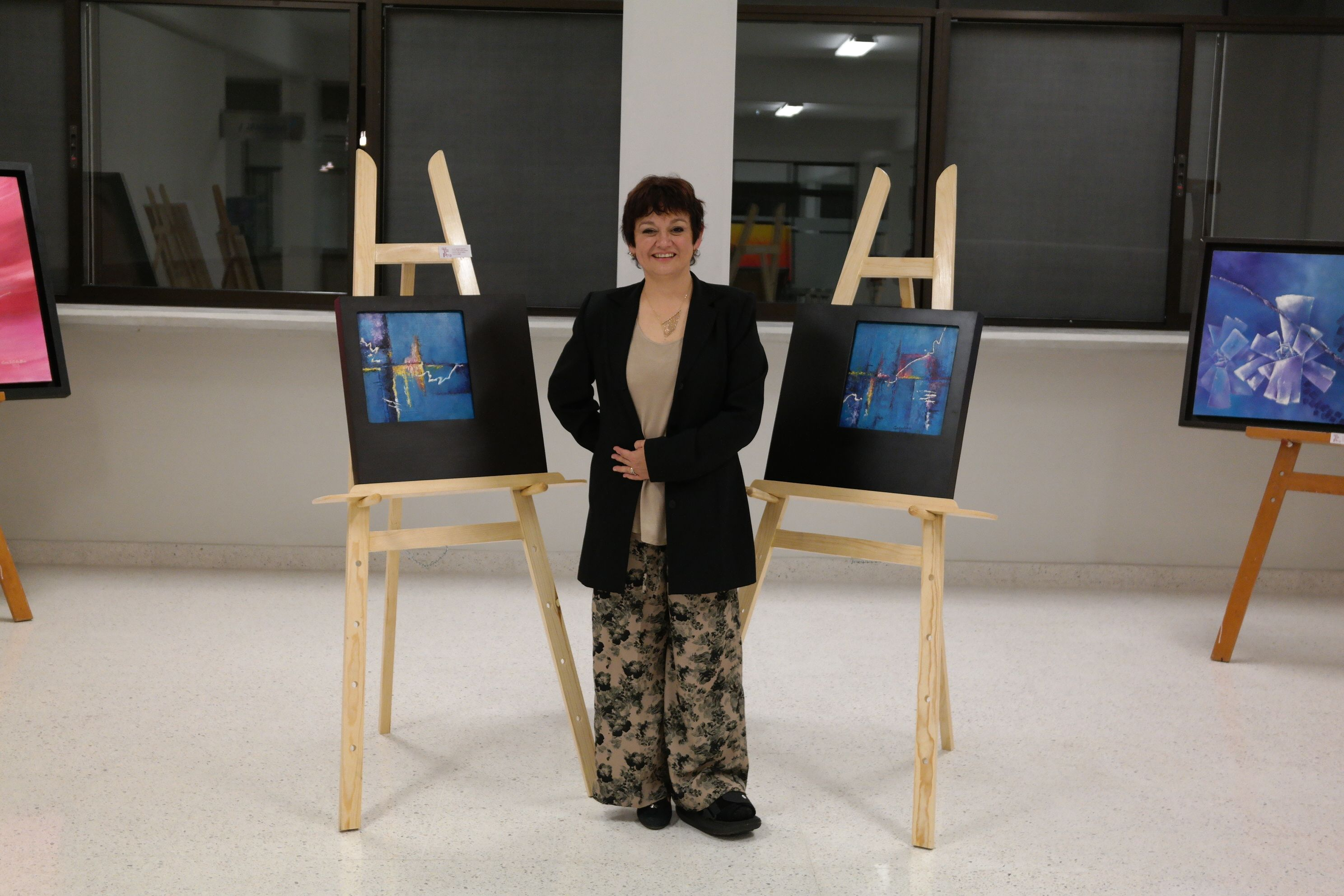 """Inauguración de la Exposición Pictórica """"Reflejos"""", de la LDG Ana Elva Caballero Rdz. (14703/2014)"""