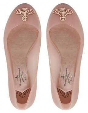 Melissa Divine Ballet Flats
