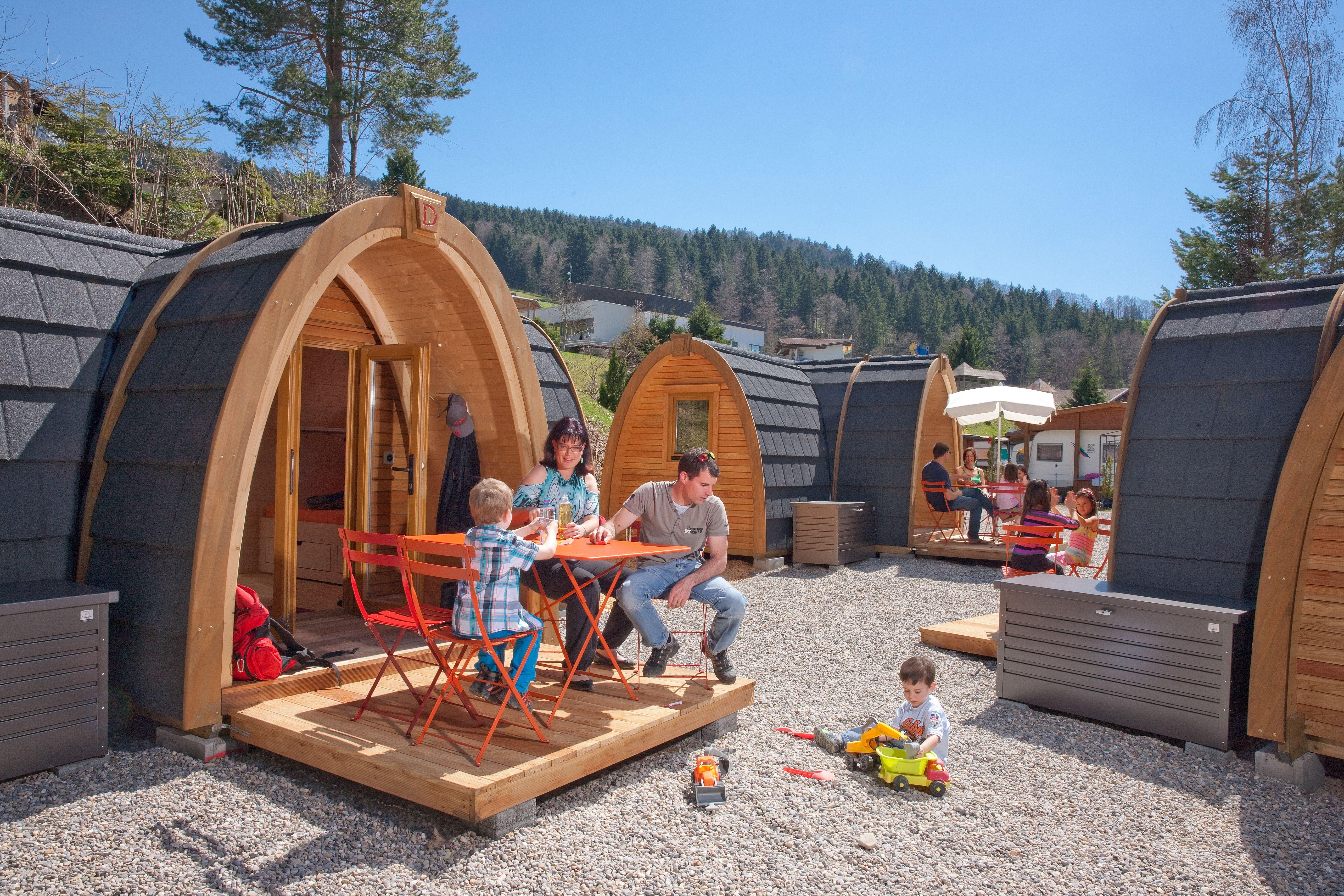 podhouse www atzmaennig ch camping pinterest