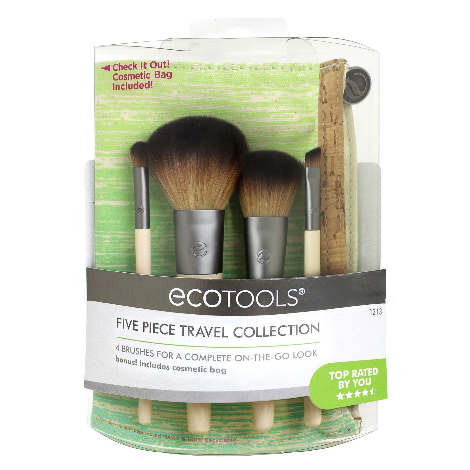 EcoTools, Five Piece Travel Set (Discontinued Item