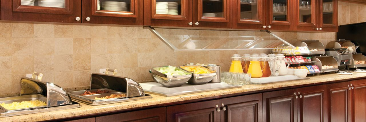 Hyatt House - all suites, complimentary breakfast, evening social hour