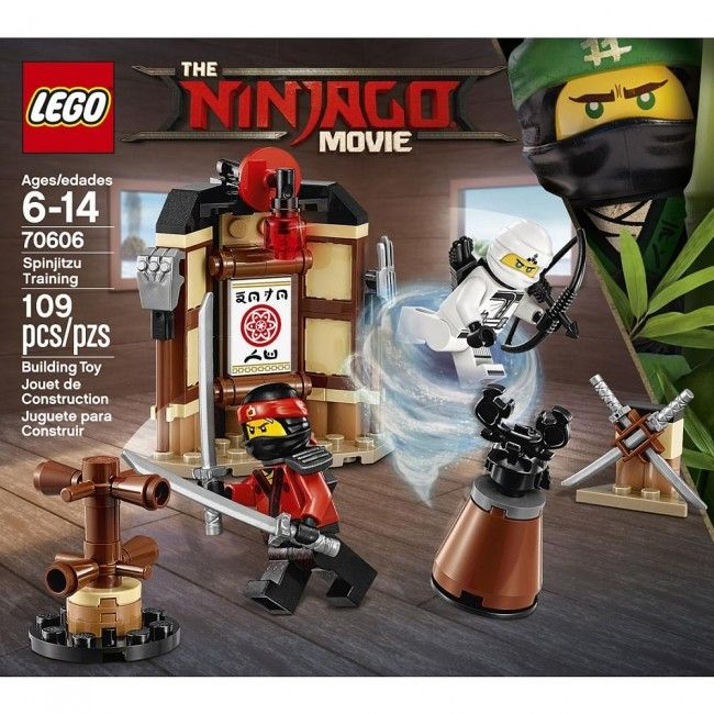 lego ninjago lentranement de spinjitz castello jeux et jouets - Jeux De Lego Ninjago Spinjitzu