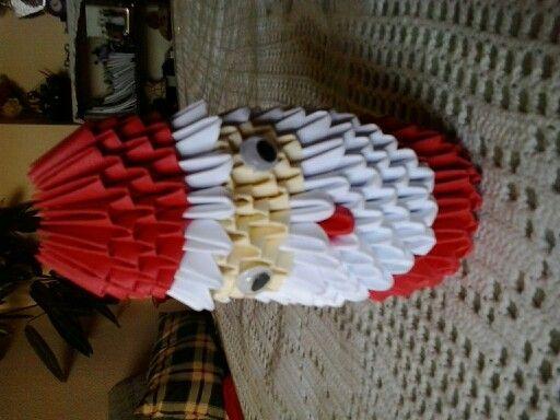 Papa Noel Origami Pinterest Origami - Origami-papa-noel