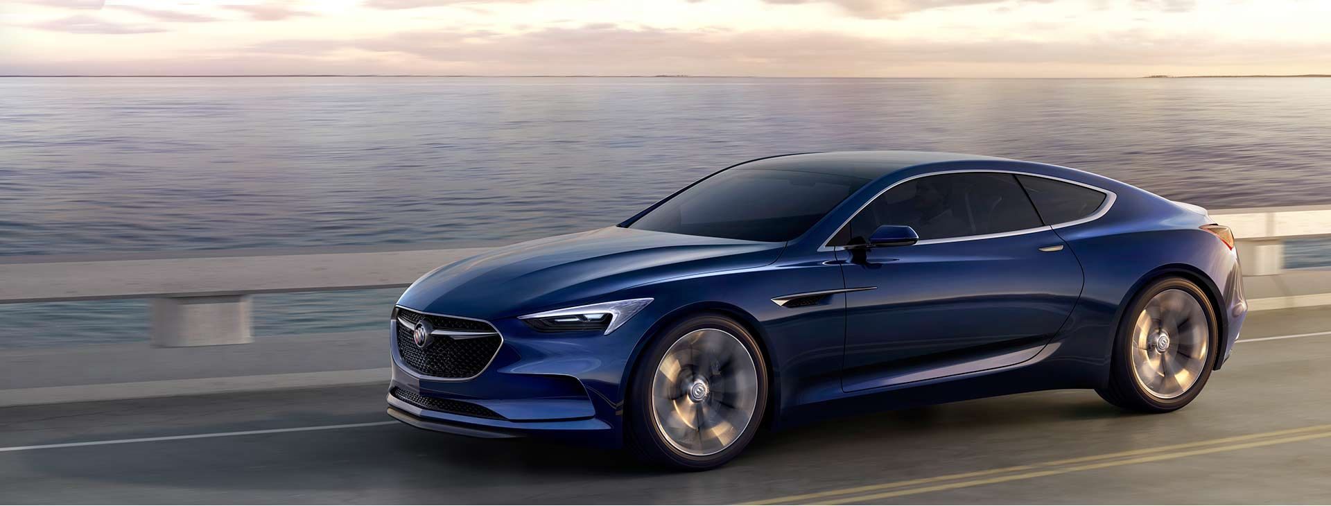 The Buick Avista Concept Vehicle Was Designed To Embody Combination Of Beauty And Performance
